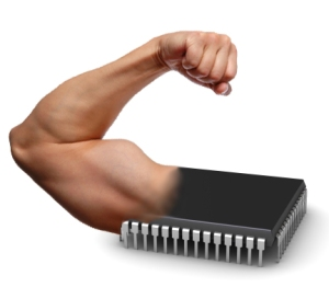 Strong-arm-chip